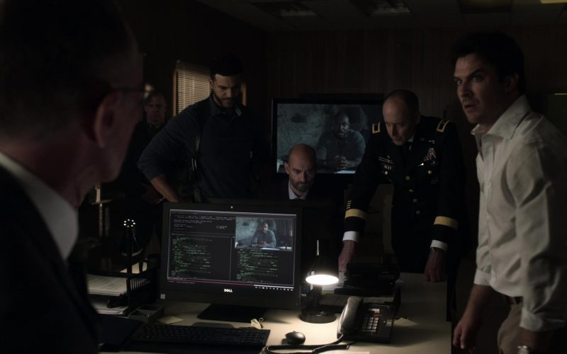 Dell Monitors in V Wars Season 1 Episode 5 Cold Cold Ground (3)