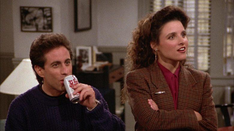 Diet Coke Can Held by Jerry Seinfeld in Seinfeld Season 3 Episode 11