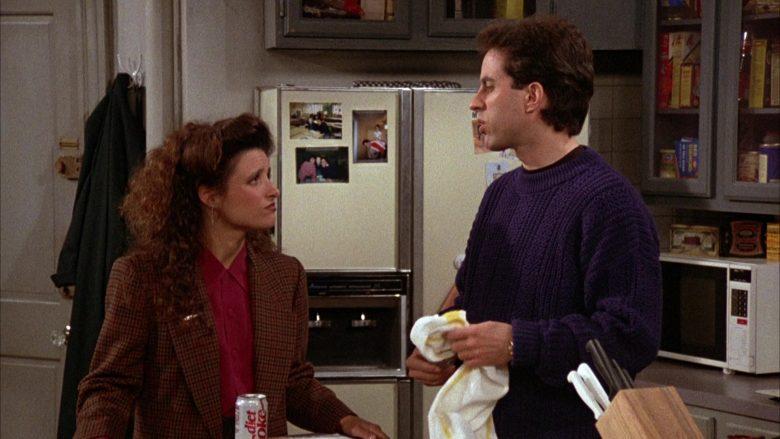Diet Coke Enjoyed by Julia Louis-Dreyfus as Elaine Benes in Seinfeld Season 3 Episode 11 (1)