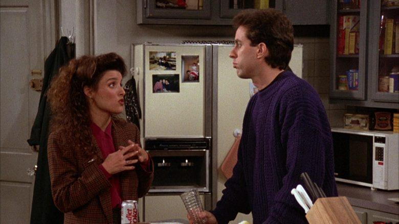 Diet Coke Enjoyed by Julia Louis-Dreyfus as Elaine Benes in Seinfeld Season 3 Episode 11 (2)