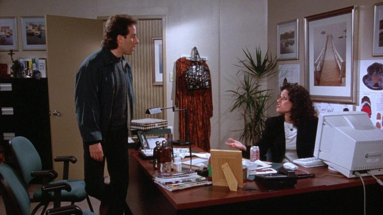 Diet Coke Enjoyed by Julia Louis-Dreyfus as Elaine Benes in Seinfeld Season 7 Episode 18 The Friars Club (1)