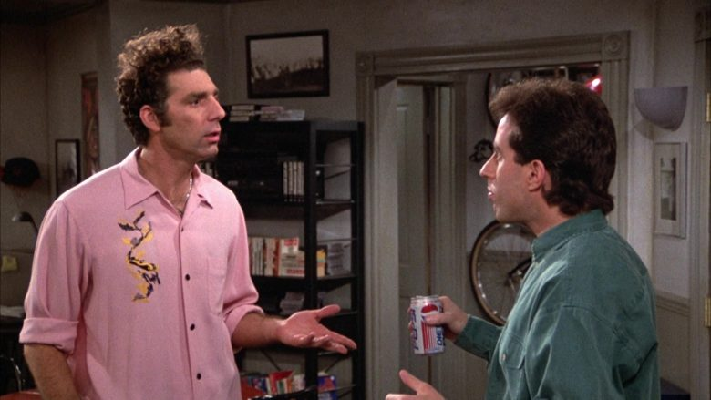 Diet Pepsi Soda Enjoyed by Jerry Seinfeld in Seinfeld Season 3 Episode 14 (1)