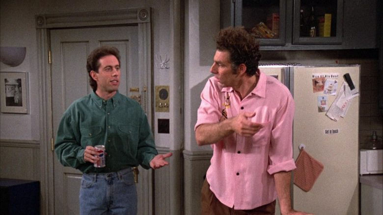 Diet Pepsi Soda Enjoyed by Jerry Seinfeld in Seinfeld Season 3 Episode 14 (5)