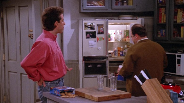 "Diet Pepsi in Refrigerator in Seinfeld Season 3 Episode 20 ""The Good Samaritan"" (1992) - TV Show Product Placement"