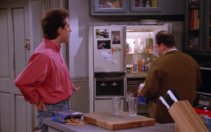 Diet Pepsi in Refrigerator in Seinfeld Season 3 Episode 20 The Good Samaritan