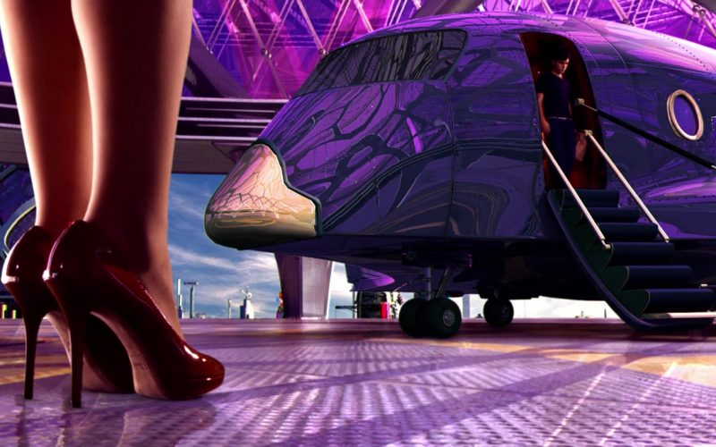 Dior Red Pumps in Speed Racer (2008)