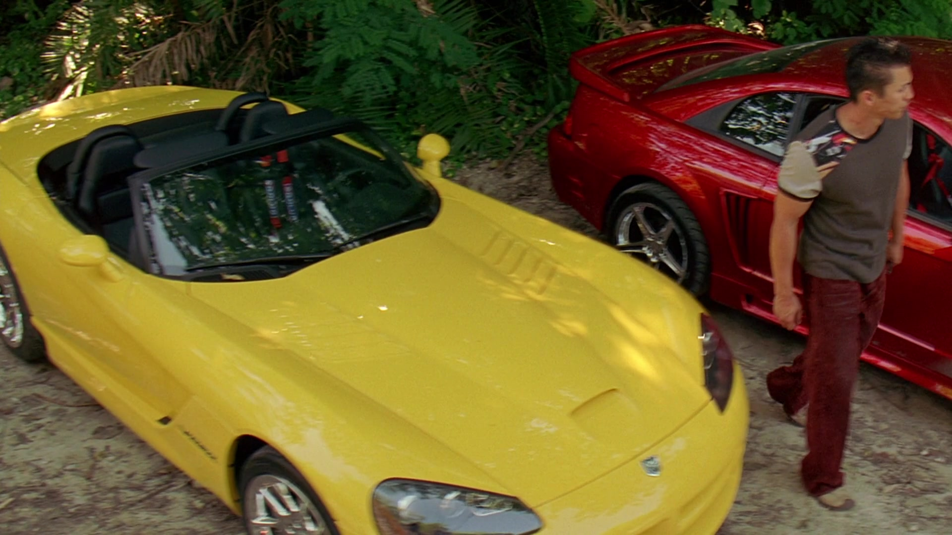 Dodge Viper Srt 10 Convertible Yellow Sports Car In 2 Fast 2 Furious 2003