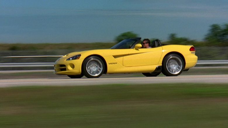 Dodge Viper SRT-10 Convertible Yellow Sports Car in 2 Fast 2 Furious (3)
