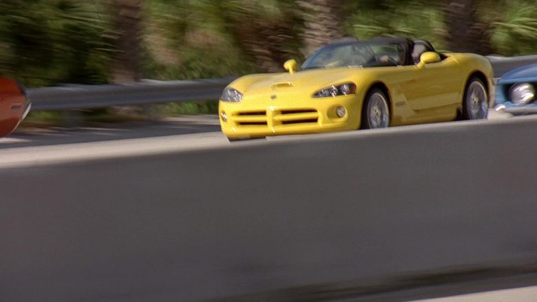 Dodge Viper SRT-10 Convertible Yellow Sports Car in 2 Fast 2 Furious (4)