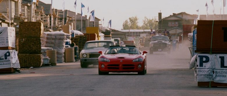Dodge Viper SRT-10 Red Convertible Sports Car Used by Zachery Ty Bryan as Clay in The Fast and the Furious (1)