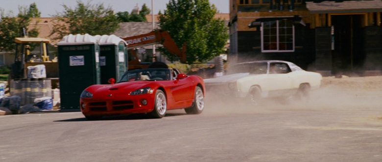 Dodge Viper SRT-10 Red Convertible Sports Car Used by Zachery Ty Bryan as Clay in The Fast and the Furious (2)