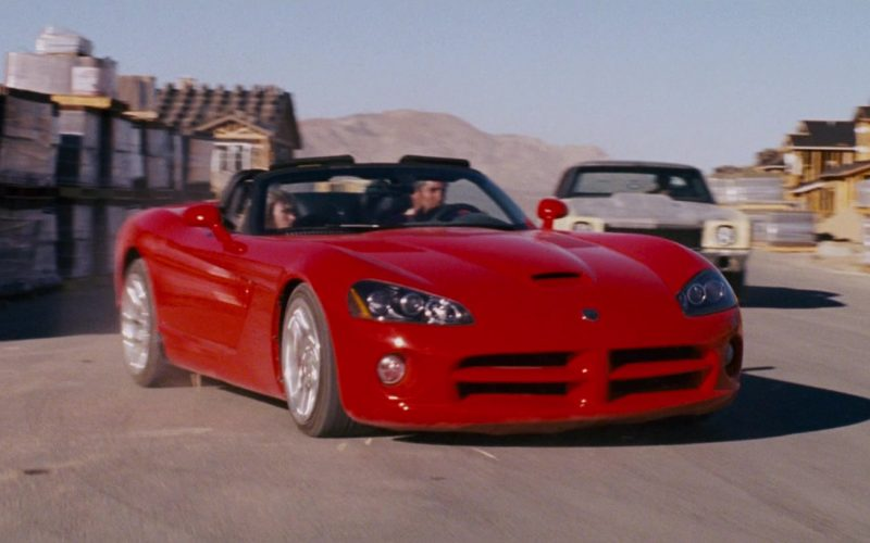 Dodge Viper SRT-10 Red Convertible Sports Car Used by Zachery Ty Bryan as Clay in The Fast and the Furious (3)
