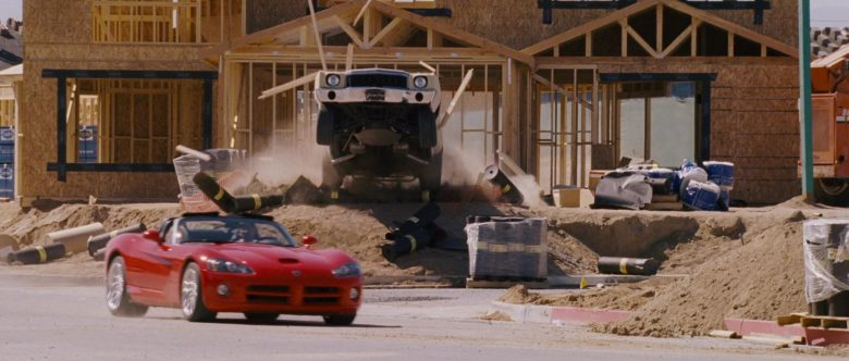 Dodge Viper SRT-10 Red Convertible Sports Car Used by Zachery Ty Bryan as Clay in The Fast and the Furious (5)