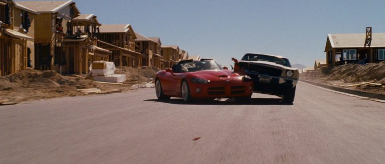 Dodge Viper SRT-10 Red Convertible Sports Car Used by Zachery Ty Bryan as Clay in The Fast and the Furious (6)