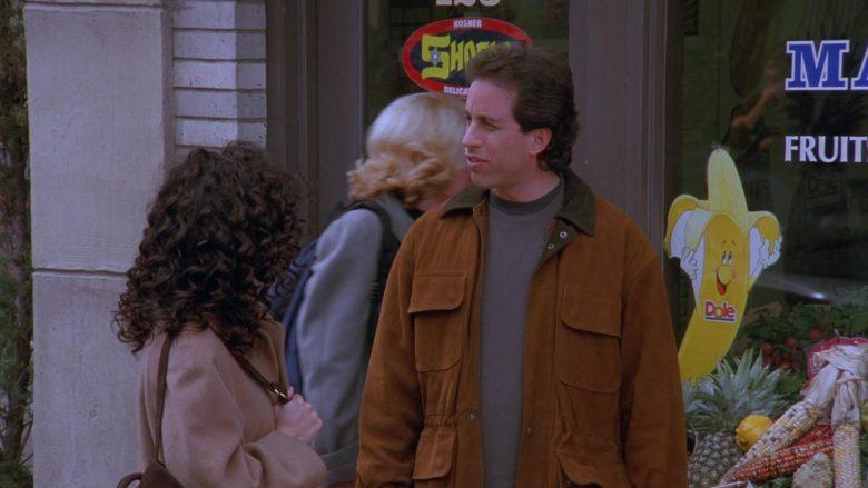 Dole Banana Sticker in Seinfeld Season 7 Episode 8 The Pool Guy (1)