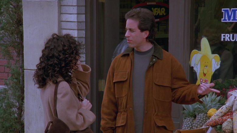 Dole Banana Sticker in Seinfeld Season 7 Episode 8 The Pool Guy (2)