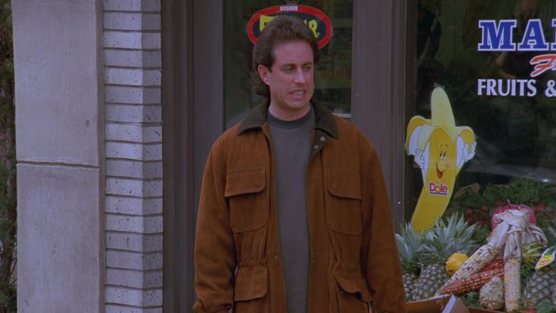 Dole Banana Sticker in Seinfeld Season 7 Episode 8 The Pool Guy (3)