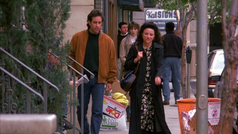 Dole Fruit Box in Seinfeld Season 6 Episode 21 The Fusilli Jerry