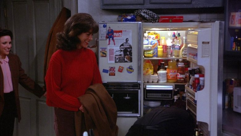 Dole Juice in Seinfeld Season 6 Episode 17 The Kiss Hello