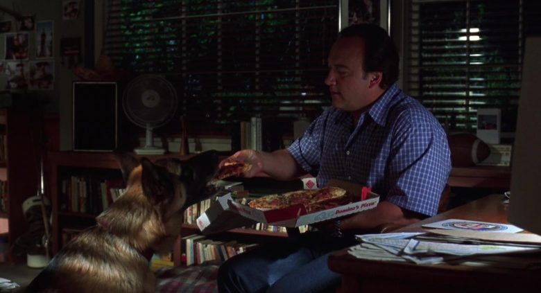 Domino's Pizza Enjoyed by James Belushi as Detective Thomas Dooley and German Shepherd King as Jerry Lee in