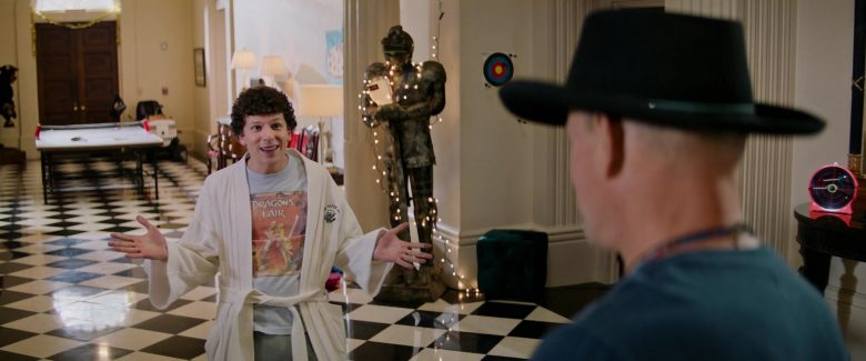 Dragon's Lair Video Game Series T-Shirt Worn by Jesse Eisenberg in Zombieland Double Tap (1)