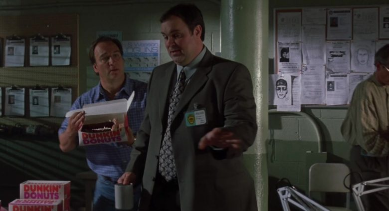 Dunkin' Donuts Box Held by Jim Belushi in K-9 P.I. 2002 (1)