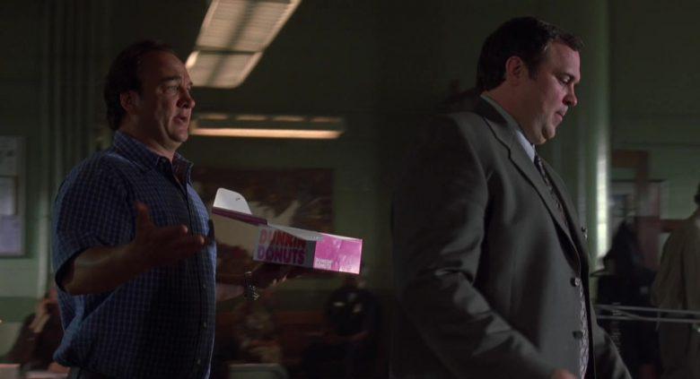 Dunkin' Donuts Box Held by Jim Belushi in K-9: P.I. (2002) Movie