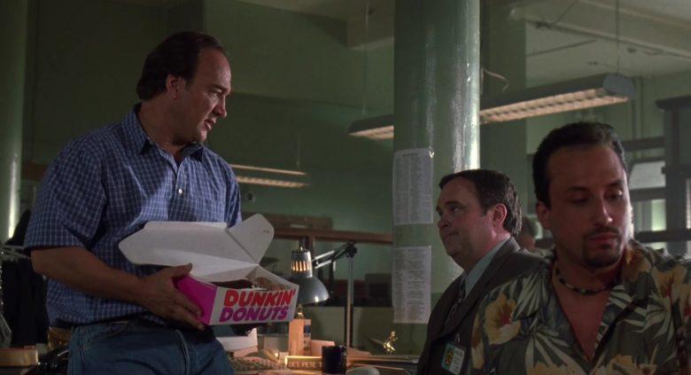 Dunkin' Donuts Box Held by Jim Belushi in K-9 P.I. 2002 (3)
