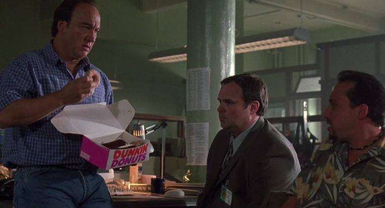 Dunkin' Donuts Box Held by Jim Belushi in K-9 P.I. 2002 (4)