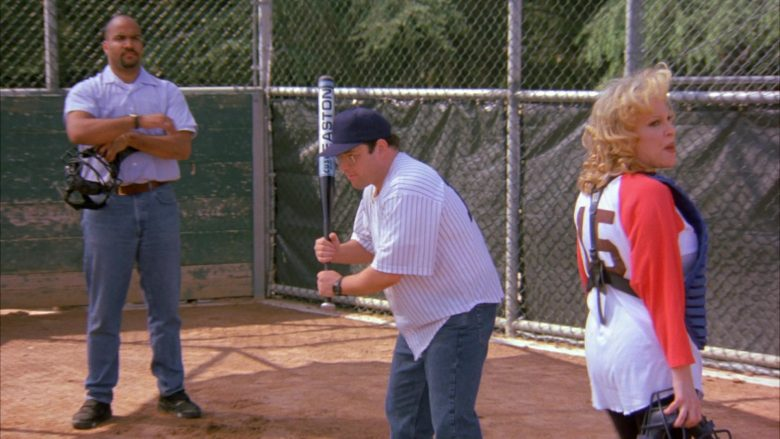 "Easton Baseball Bat Used by Jason Alexander as George Costanza in Seinfeld Season 6 Episode 24 ""The Understudy"" (1995) - TV Show Product Placement"