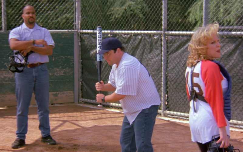 Easton Baseball Bat Used by Jason Alexander as George Costanza in Seinfeld Season 6 Episode 24 (1)