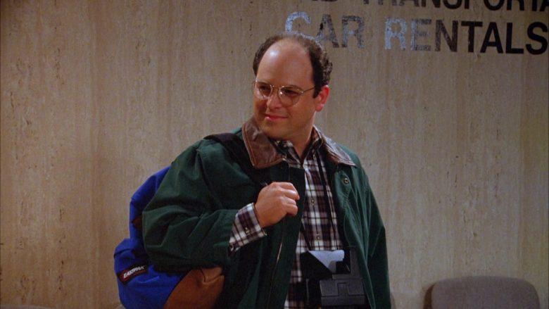 Eastpak Backpack Used by Jason Alexander as George Costanza in Seinfeld Season 5 Episode 18-19 (2)
