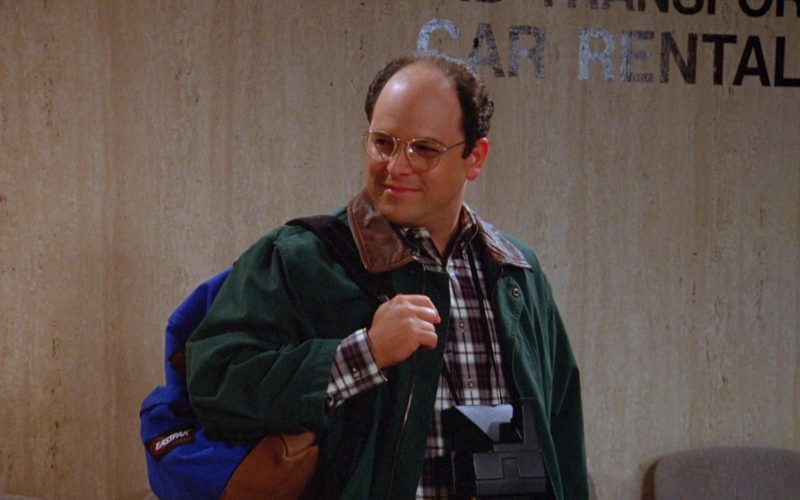 Eastpak Backpack Used by Jason Alexander as George Costanza in Seinfeld Season 5 Episode 18-19 (2)