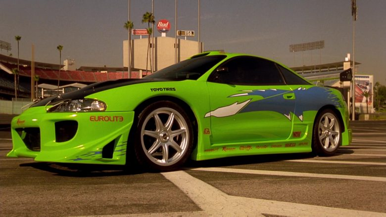 Eurolite and Toyo Tires Stickers in The Fast and the Furious (1)