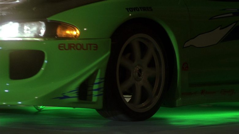 Eurolite and Toyo Tires Stickers in The Fast and the Furious (2)