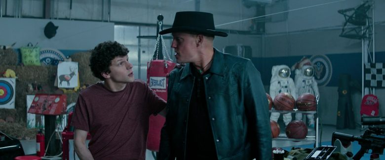Everlast Punching Bag, Spalding and Wilson Basketballs in Zombieland: Double Tap (2019) Movie