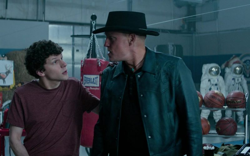 Everlast Punching Bag, Spalding and Wilson Basketballs in Zombieland Double Tap