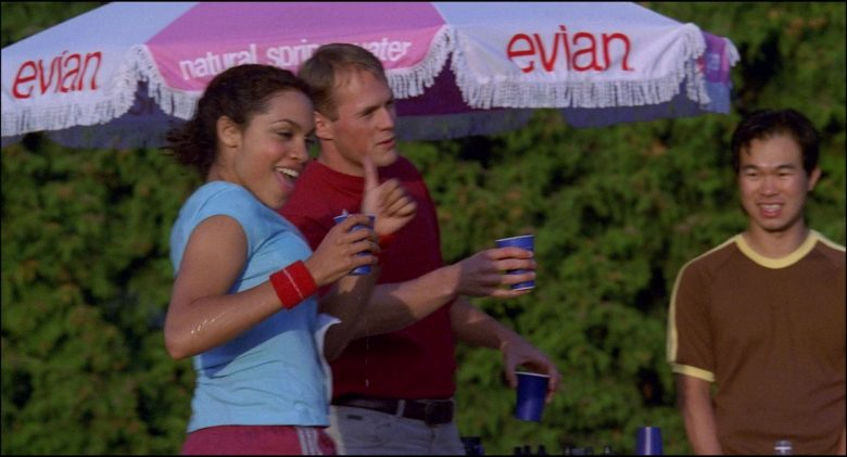 Evian Natural Spring Water Umbrella in Josie and the Pussycats