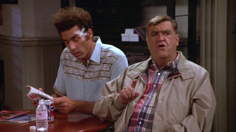 Evian Water and Pepsi in Seinfeld Season 4 Episode 5 (1)