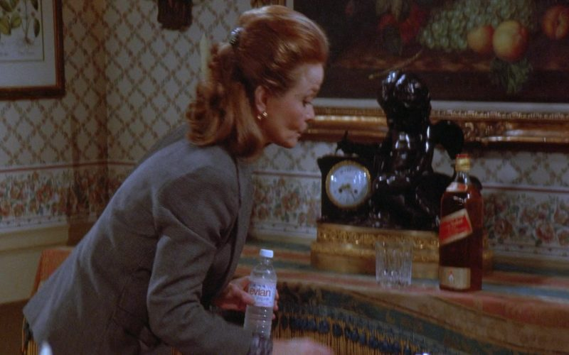 Evian Water in Seinfeld Season 7 Episode 11 The Rye