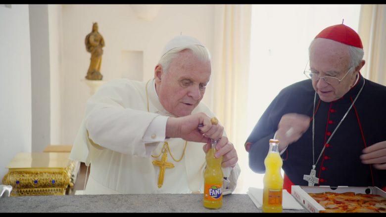Fanta Orange Soda Enjoyed by Jonathan Pryce & Anthony Hopkins in The Two Popes (1)