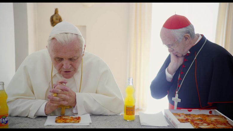 Fanta Orange Soda Enjoyed by Jonathan Pryce & Anthony Hopkins in The Two Popes (4)