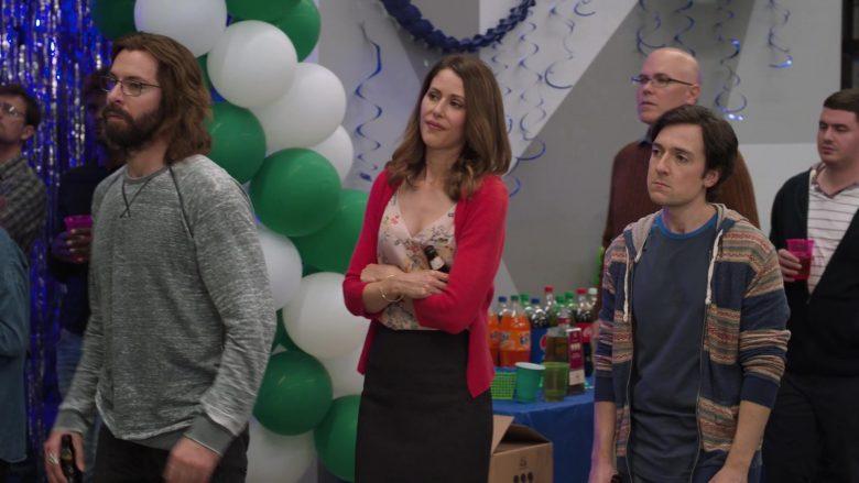Fanta Orange Soda in Silicon Valley Season 6 Episode 7 Exit Event (1)