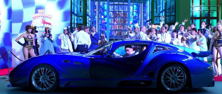 Faralli & Mazzanti Antas V8 GT Blue Sports Car in Speed Racer (1)