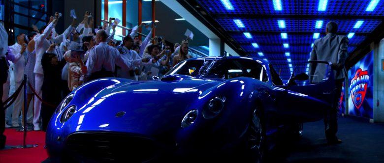 Faralli & Mazzanti Antas V8 GT Blue Sports Car in Speed Racer (2)