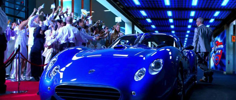 Faralli & Mazzanti Antas V8 GT Blue Sports Car in Speed Racer (3)