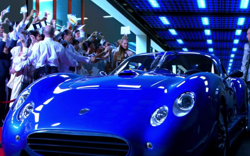 Faralli & Mazzanti Antas V8 GT Blue Sports Car in Speed Racer (3)