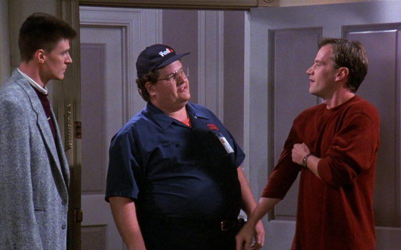 FedEx Courier in Seinfeld Season 8 Episode 3 The Bizarro Jerry (1)