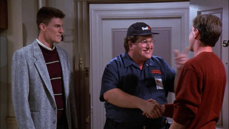 FedEx Courier in Seinfeld Season 8 Episode 3 The Bizarro Jerry (2)