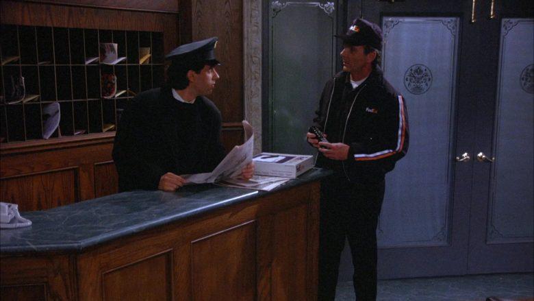 FedEx in Seinfeld Season 6 Episode 18 The Doorman (1)